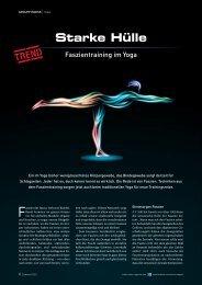 Faszientraining im Yoga - Trainer 05/2013 - Body-Mind-Spirit