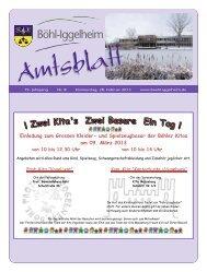 Amtsblatt vom 28.02.2013 (KW 9) - Gemeinde Böhl-Iggelheim
