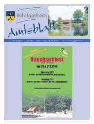 Amtsblatt vom 18.07.2013 (KW 29) - Gemeinde Böhl-Iggelheim
