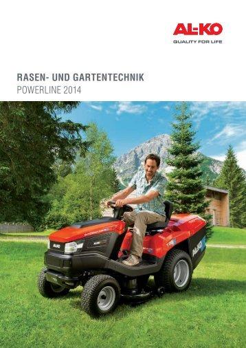 ALKO Powerline Rasen- und Gartentechnik 2014 - Boehler Josef ...