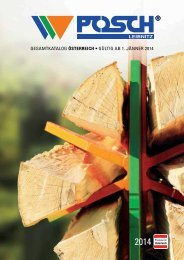 POSCH Katalog 2014