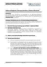 Zulassung von Unternehmen als Handelsteilnehmer - Börse Stuttgart