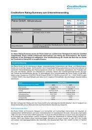 Rating-Zusammenfassung - Börse Stuttgart