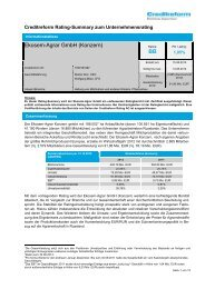 Rating-Summary 15.08.2013 - Börse Stuttgart