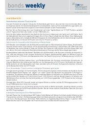 Bonds Weekly KW 47/2013 - Börse Stuttgart