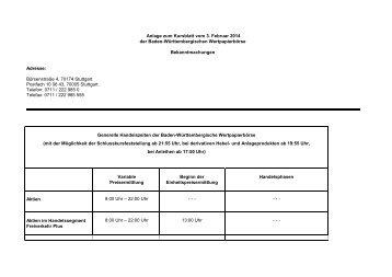 03. Februar 2014 Teil 1 - Börse Stuttgart