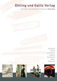 Dölling und Galitz Verlag - boersenblatt.net