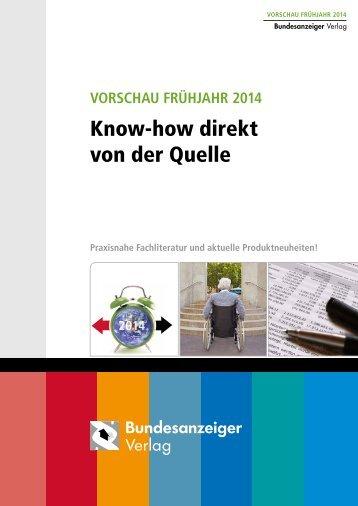 VORSCHAU Frühjahr 2014 - boersenblatt.net