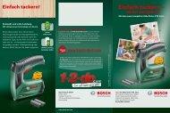 PDF - 2,1 MB - Bosch Elektrowerkzeuge für Heimwerker