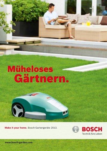Download (PDF - 18,9 MB) - Bosch Garden Tools