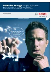 BPM+ for Energy: Simple Solutions for Complex Market Processes