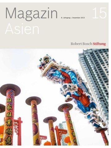 8. Jahrgang :: Dezember 2013 (PDF) - Robert Bosch Stiftung