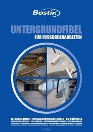 Unsere starken Marken Kompetenz am Bau – Lieferung aus ... - Bostik