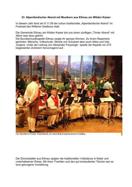 33 Alpenländischer Abend Mit Musikern Aus Ellmau Am Witten