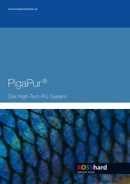 PigaPur® - BOSShard Farben