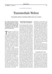 Transmediale Welten