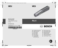 PLL 5 - Bosch