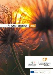 BPWW Tätigkeitsbericht 2012 - Biosphärenpark Wienerwald