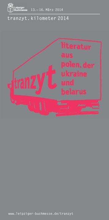 Tranzyt Flyer 2014 (PDF) - Robert Bosch Stiftung