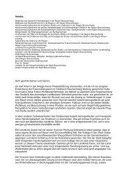 Schreiben des Oberbürgermeisters zum Thema Region vom 12.11 ...