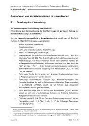 Ausnahmen von Verkehrsverboten in der Umweltzone des ...
