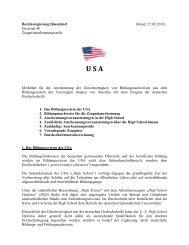 USA - Bezirksregierung Düsseldorf
