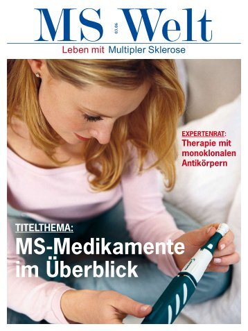TITELTHEMA: MS-Medikamente Im Überblick - Cranach Apotheke