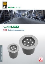 LED Bodeneinbauleuchten Product Line 048–2012 - Brilum
