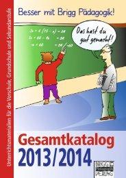Gesamtkatalog herunterladen - Brigg Pädagogik Verlag