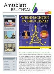Amtsblatt KW 48/2013 - Bruchsal