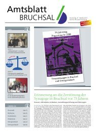Amtsblatt KW 44/2013 - Bruchsal