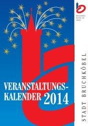 Veranstaltungskalender 2014 - Stadt Bruchköbel