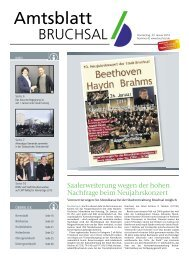 Amtsblatt KW 04/2014 - Bruchsal