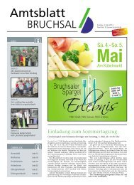 Amtsblatt KW 18/2013 - Bruchsal