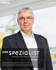 in Der Spezialist 22 - Brunel GmbH