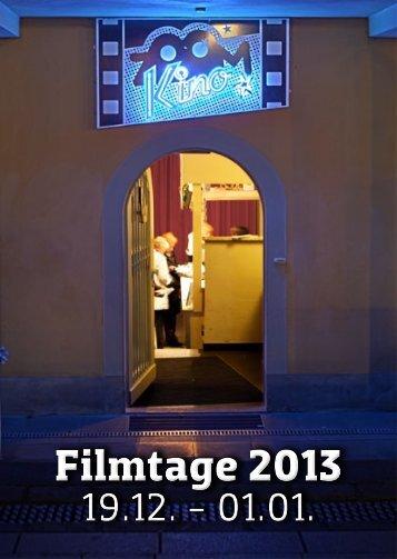ZOOM-Filmtage - Programm