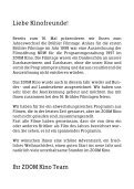 ZOOM-Filmtage - Programm - Page 2