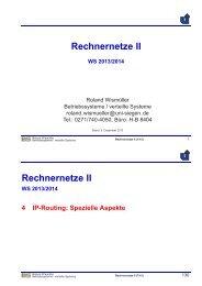 2 auf 1 - Betriebssysteme und verteilte Systeme
