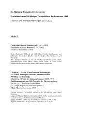 Titelliste und Werkbeschreibungen - Die Bayerische Staatsbibliothek