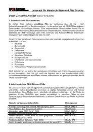 CD-ROMs und DVDs - Die Bayerische Staatsbibliothek