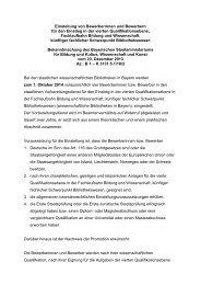 Zum vollständigen Text der Ausschreibung - Die Bayerische ...