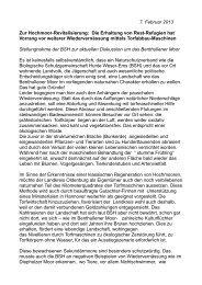 Benthullener Moor - Biologische Schutzgemeinschaft Hunte Weser ...