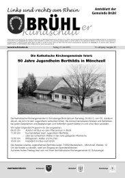 er Rundschau - Gemeinde Brühl