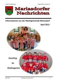 April 2013 - Bürgermeister Zeitung