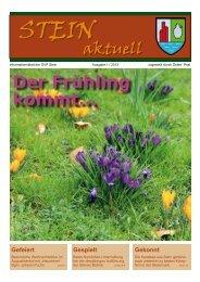 Stein - Bürgermeister Zeitung