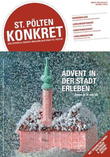 ADVENT IN DER STADT ERLEBEN - Bürgermeister Zeitung