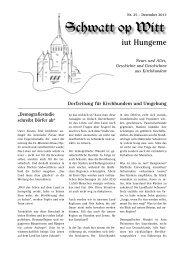 Jubiläumsausgabe - Bürgerverein Kirchhundem eV