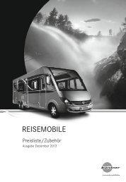 Preisliste Reisemobile DE 2014 - Bürstner GmbH