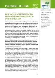 bund naturschutz zeigt für bayern vorbildliche energiesparprojekte ...