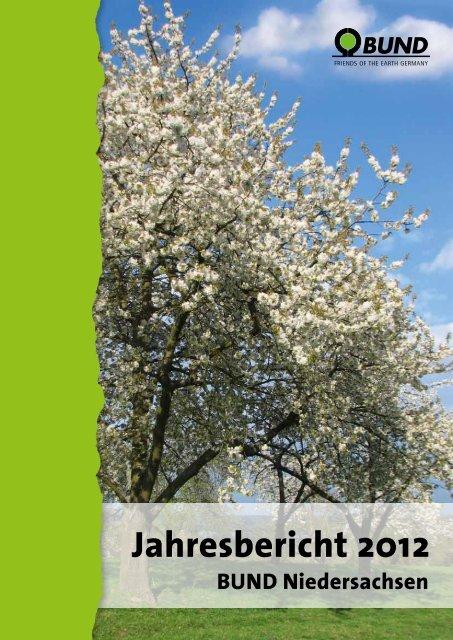 PDF-Format, ca. 3,9 MB - BUND Landesverband Niedersachsen e.V.